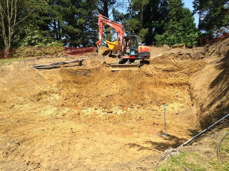 querreys Lodge Excavation May 2018
