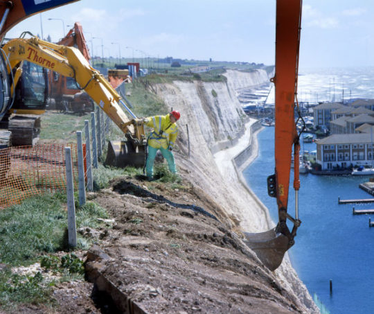 Brighton Marina Cliff Stabilisation